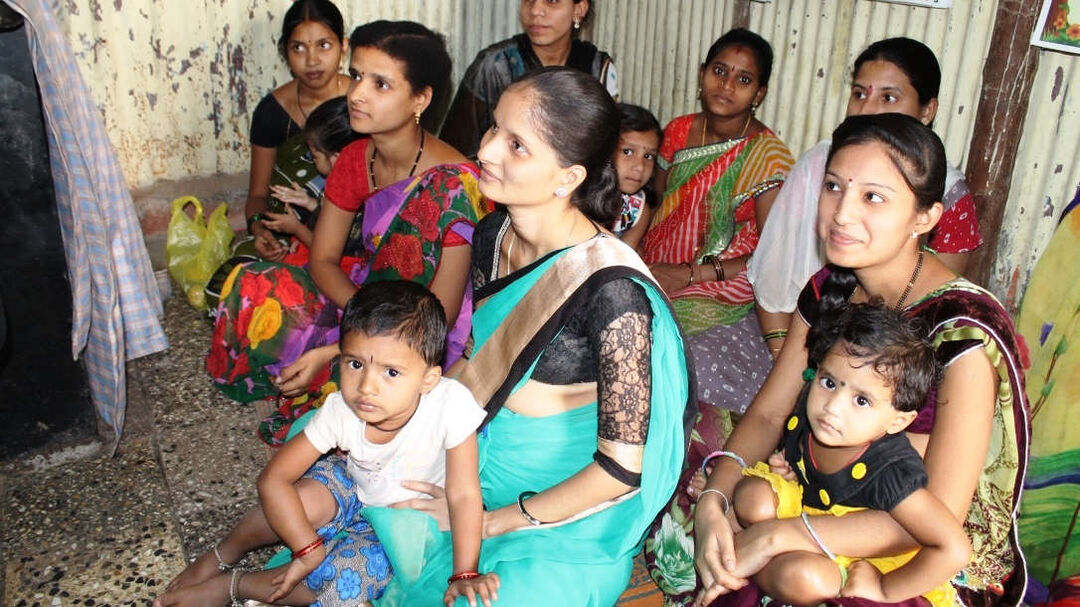 Adopt a pregnant mother from an urban slum