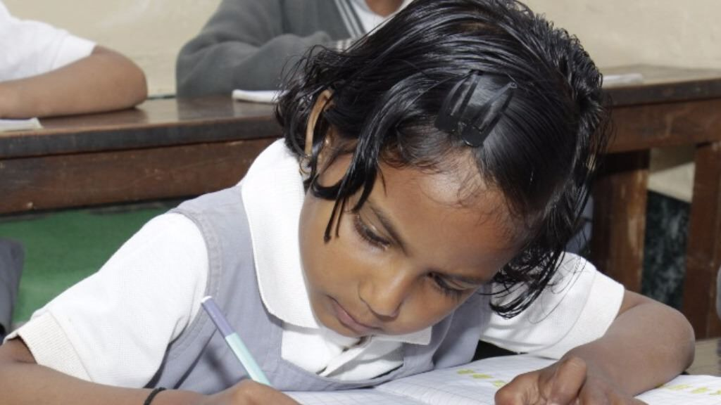 Educate an underprivileged girl child