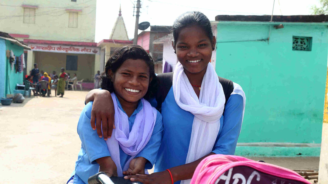 Educate children from leprosy afflicted families