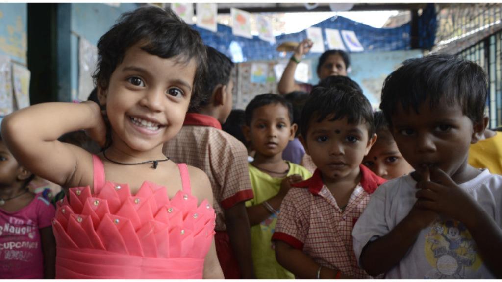 Fund a balwadi teacher's salary for a needy child's education