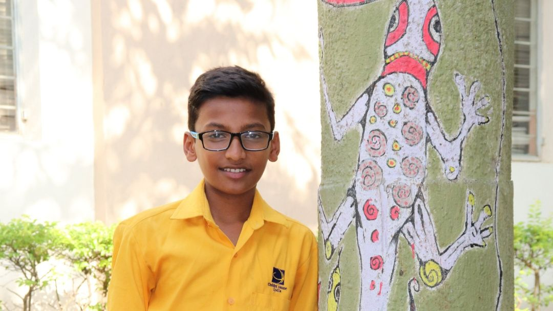 Gift quality education to Narasimha