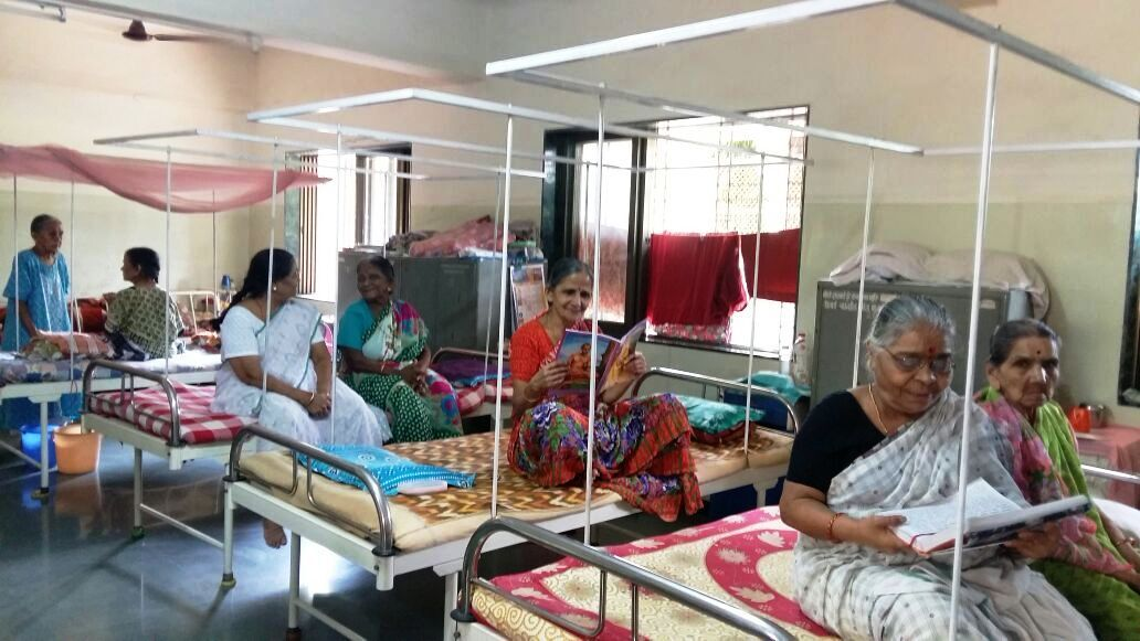 Give poor senior citizens access to a safe shelter