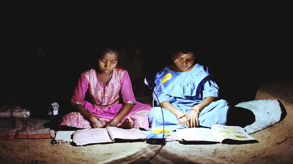 Light up the life of poor family with a solar lamp