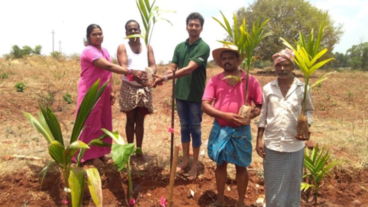 Plant a tree to support the rural farmers
