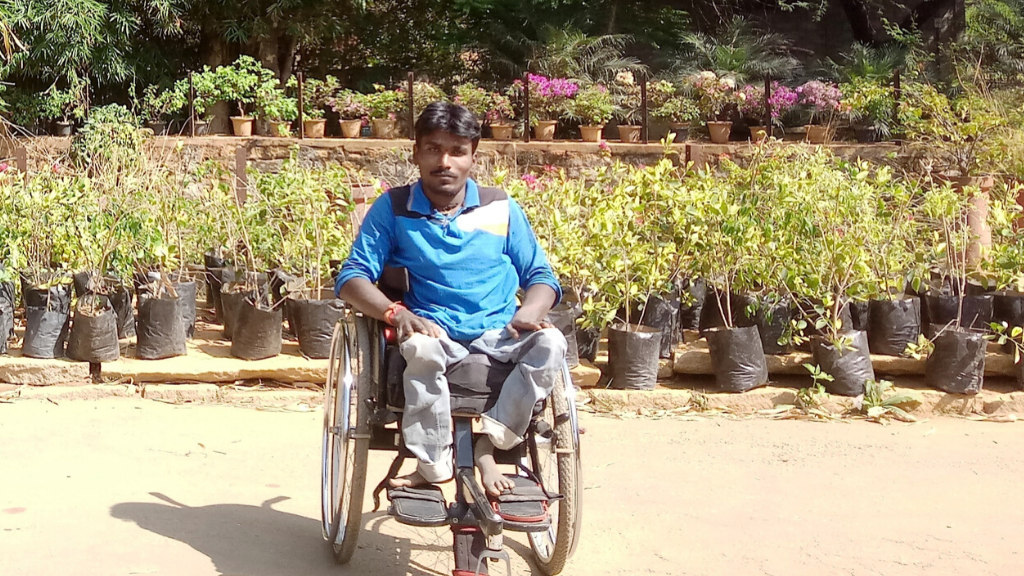 Provide new hope to a poor person with special ability