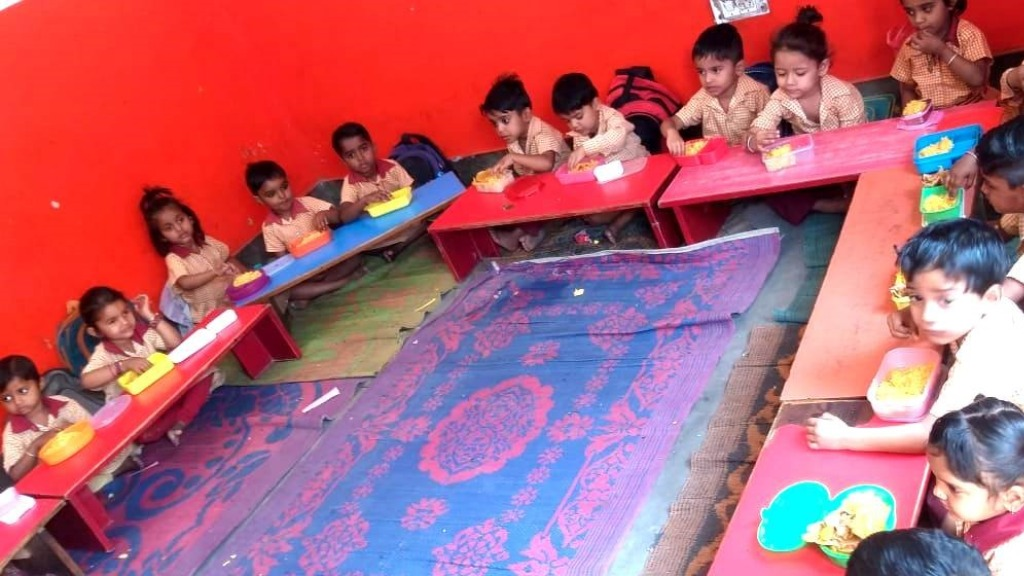 Sponsor a child's nursery education in Bhatti Mines