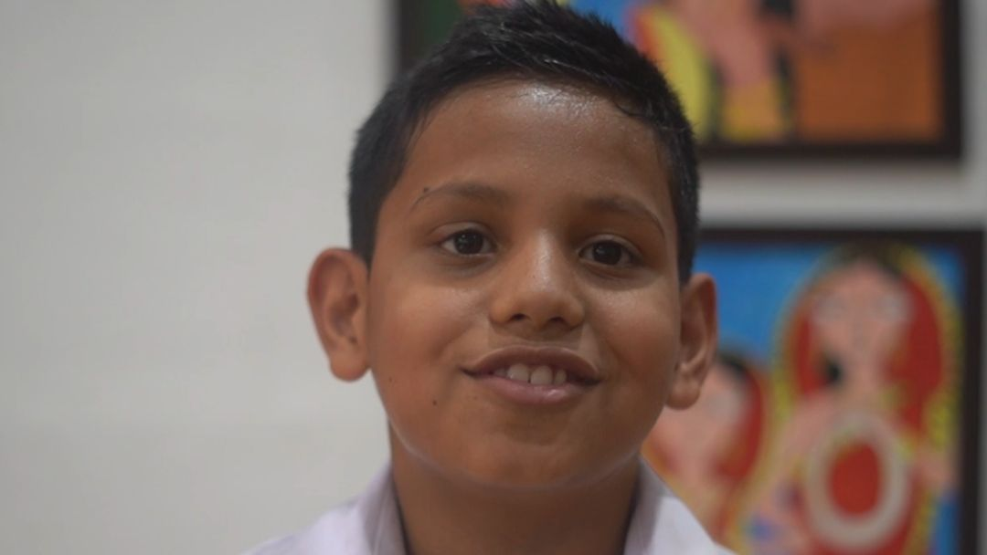 Sponsor Aryan's education and food