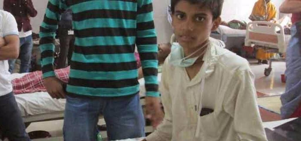 Sponsor blood units to poor patients with hemophilia