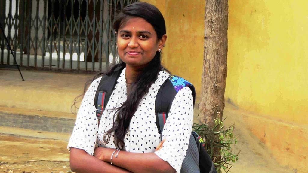 Sponsor college education for a meritorious girl