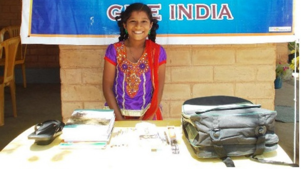 Sponsor education materials for a poor middle school student