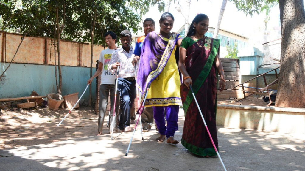 Sponsor expenses in a hostel for visually impaired students