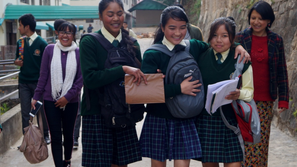 Sponsor fees of children in an inclusive school in Shillong