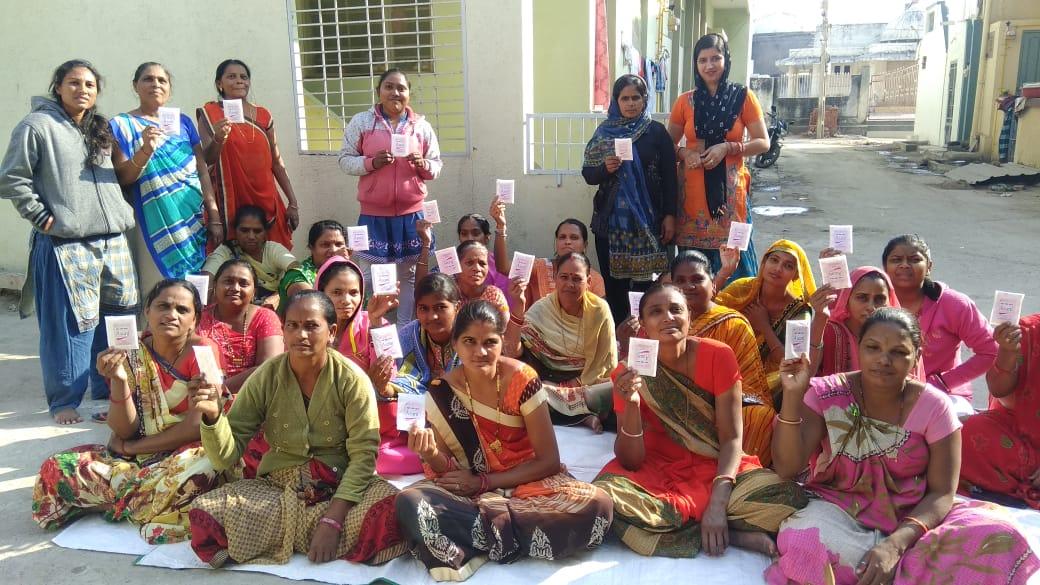 Sponsor sanitary napkins for rural women