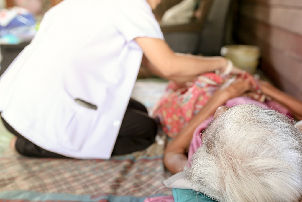 Sponsor social worker's salary to help terminally ill patients