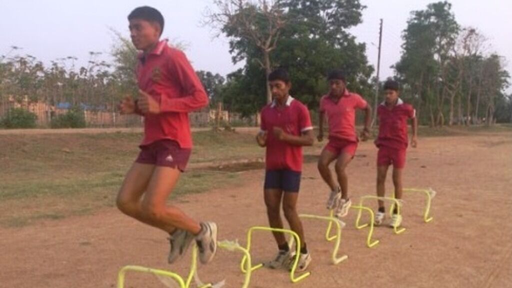 Sponsor the food and training for a talented rural athlete