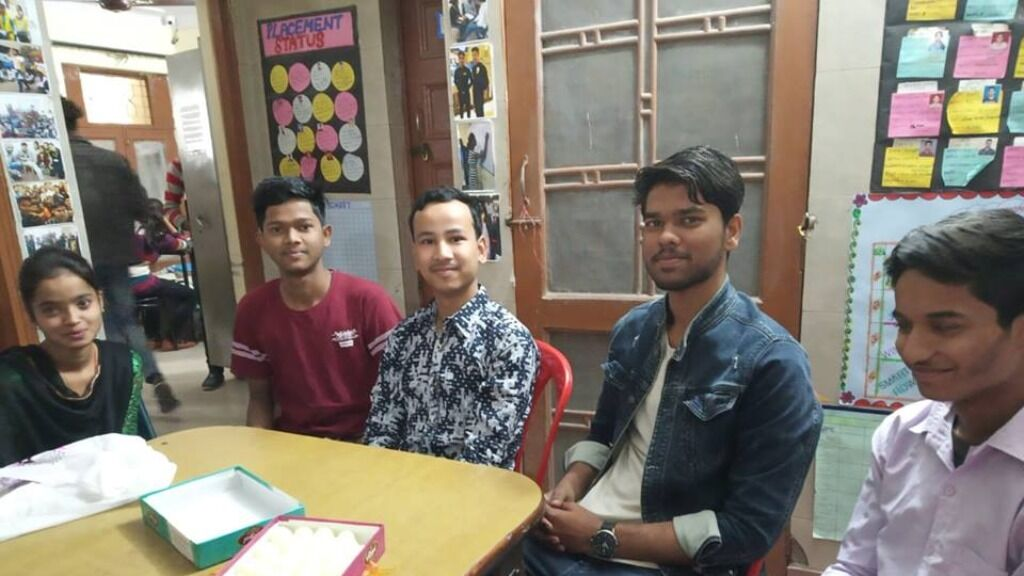 Sponsor vocational training for youth living in slums