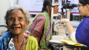 Help the elderly see with cataract surgery
