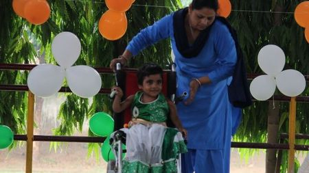 Educate a child with learning challenges