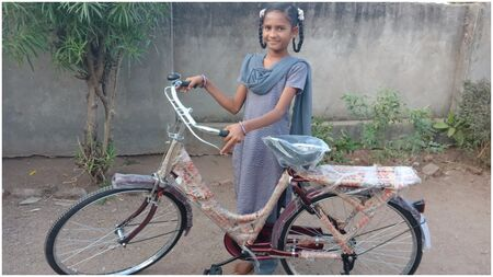 Gift a bicycle to enable the education of a girl child
