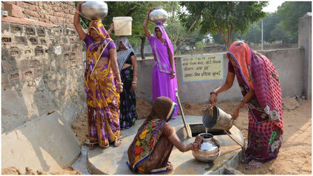 Help a drought prone village get access to water