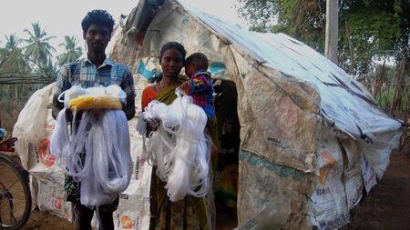 Help a tribal fisherman earn his livelihood