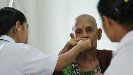 Help poor terminally ill patients get access to medical care