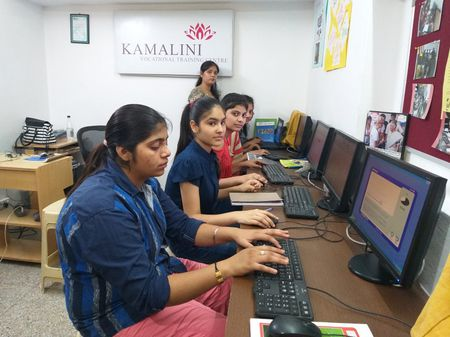 Sponsor computer training for a poor young woman