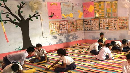 Provide arts and sports materials for students in Bihar