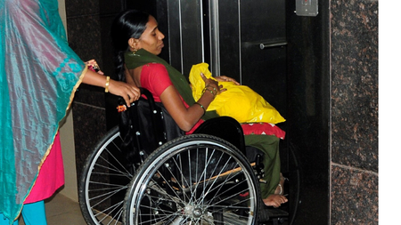 Sponsor a differently abled young woman's stay in a hostel