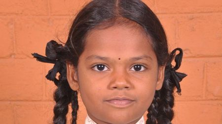 Sponsor Subhashini's education and daily meals