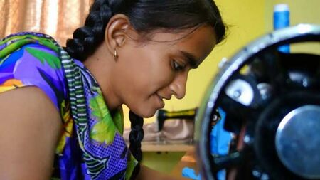Sponsor vocational training for poor young women