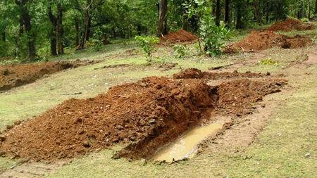 Support groundwater restoring through rain water harvesting